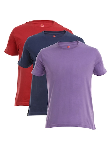 Myntra Men Pack of 3 T-shirt