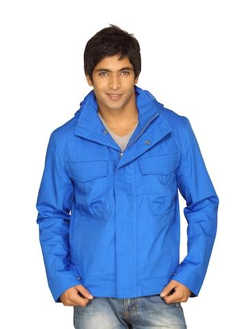 Timberland Men Cargo Stratham Hood Blue Jacket