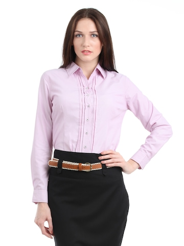 Scullers For Her Women Pink Shirt