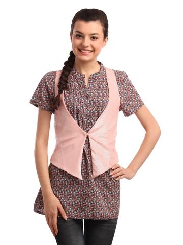 ONLY Women Pink Waistcoat