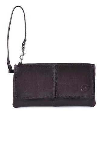 Fastrack Women Leather Purple Wallet