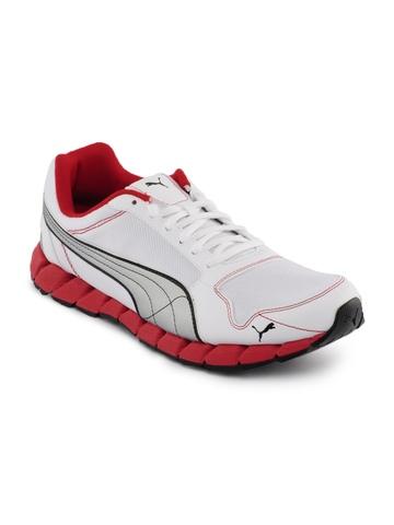 Puma Men Kevler Runner White Sports Shoes