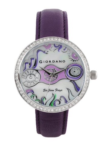 Giordano Women White Dial Watch