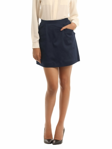 French Connection Women Navy Blue Skirt
