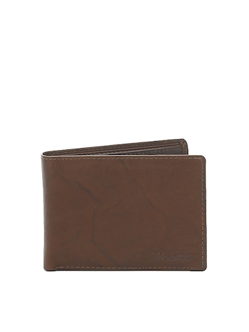 New Hide Men Brown Wallet