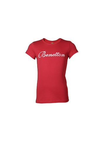 United Colors of Benetton Kids Girls Red Top
