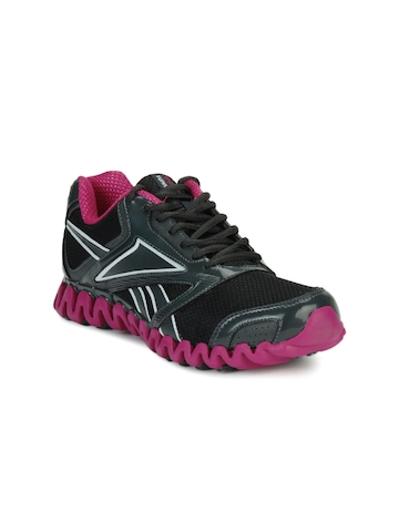 Reebok Women Black Zignano Race Sports Shoes