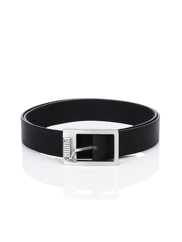 Puma Men Leather Black Belt