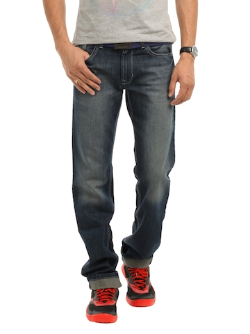 Peter England Men Blue Jeans