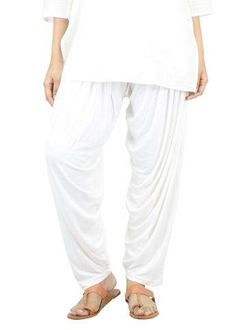 Myntra Women Cream Patiala Salwar