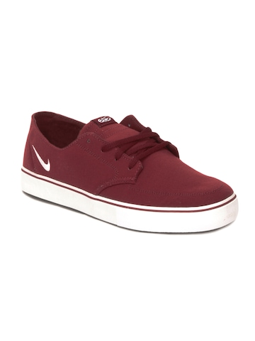 Nike Men Braata Canvas Red Casual Shoes