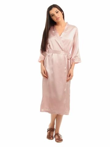 Bwitch Women Pink Lily Robe