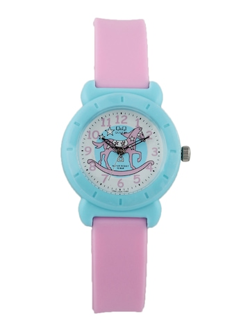 Q&Q Kids Unisex Light Blue Dial Watch