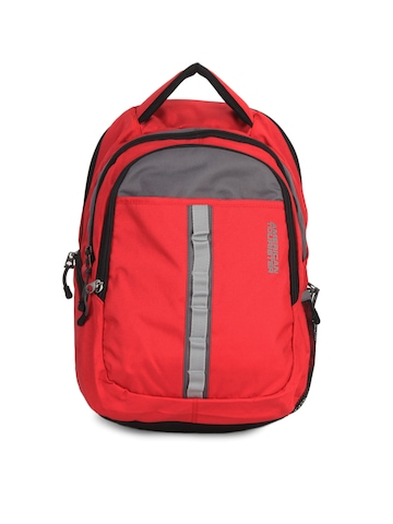American Tourister Unisex Red Backpack