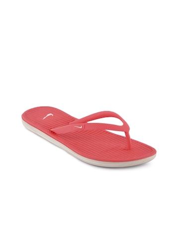 Nike Women Solarsoft Thong Pink Flip Flops