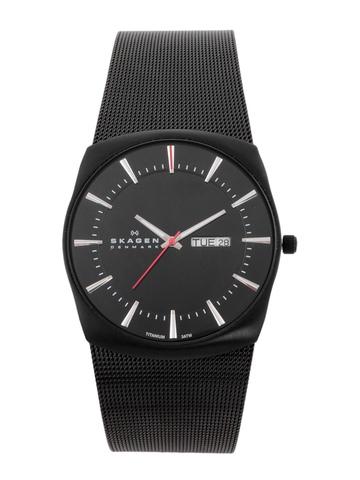 Skagen Men Black Dial Watch