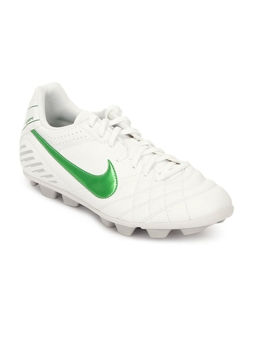 Nike Men Tiempo Natural IV Vtr White Sports Shoes