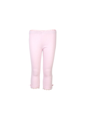 Doodle Girls Lace Bow LT.Pink Leggings