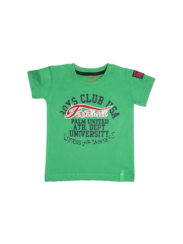 Gini and Jony Boys United Green T-shirt