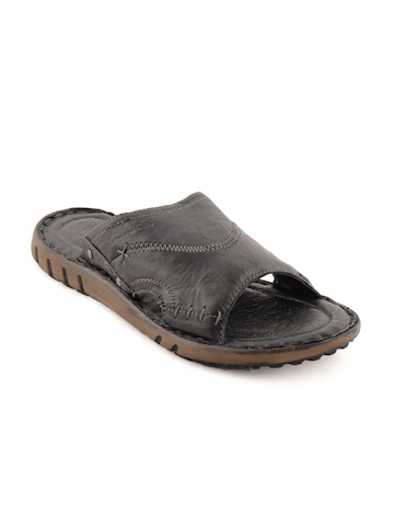 Ganuchi Men Casual Black Sandals