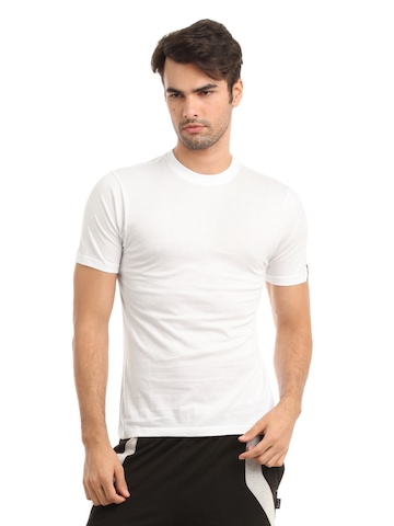 Hanes Men White Innerwear T-shirt