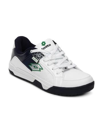 Lotto Men White Shoes