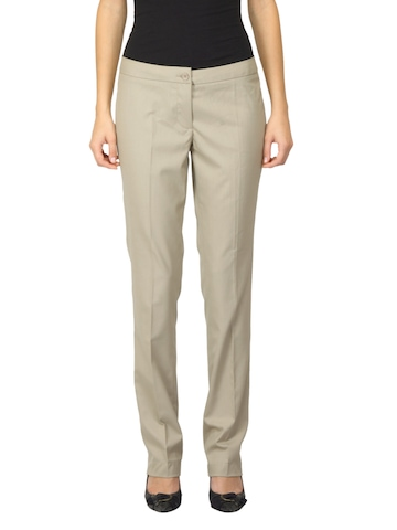 Scullers For Her Beige Trousers