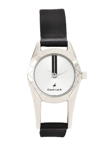 Fastrack Women Sliver Dial Watch
