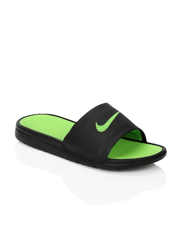 Nike Men Solarsoft Slide Black Sandals