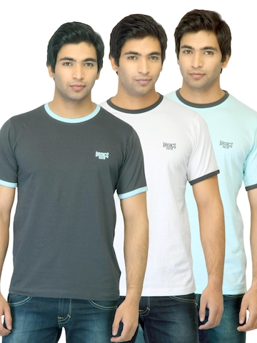 Basics Men Pack of 3 T-shirts