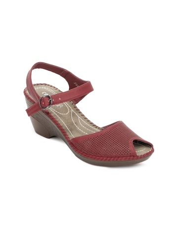 Cobblerz Women Red Sandals