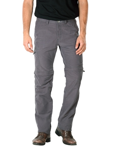 Scullers Men Grey Trousers