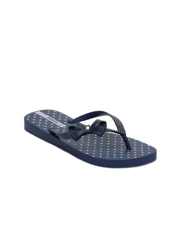 iPanema Women Blue Flip Flops
