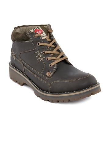 Lee Cooper Men  Brown Casual Shoe