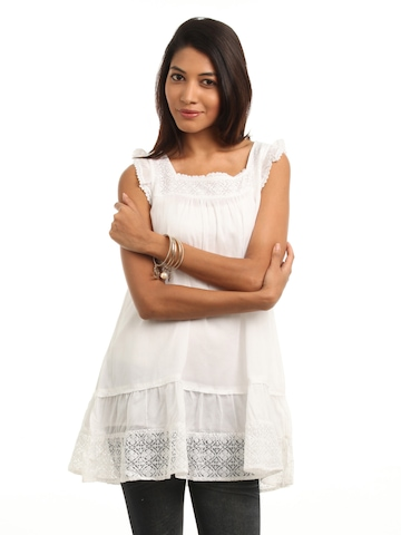 Mineral Women White Tunic