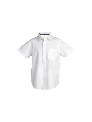Allen Solly Kids Boys Oxford White Shirt