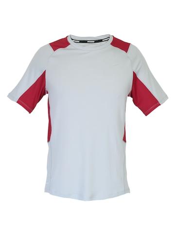 Nike Men Running Grey T-shirt