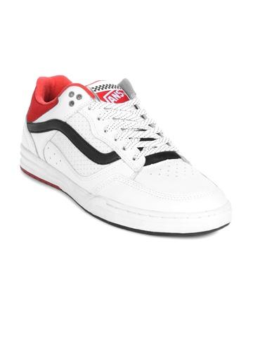 Vans Men Fontana White Shoes