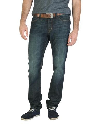 Lee Men Blue Brushed Jeans