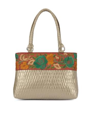 Rocia Women Bronze Handbag