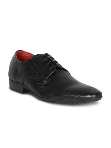 Red Tape Men Black Shoes
