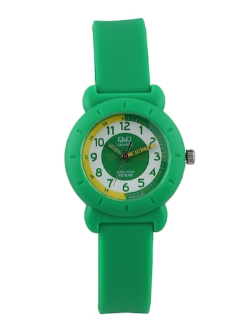 Q&Q Kids Unisex Green Analog Watch