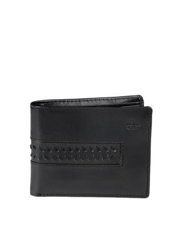 Arrow Men Black Wallet
