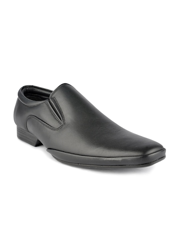 Franco Leone Men Black Formal Shoe