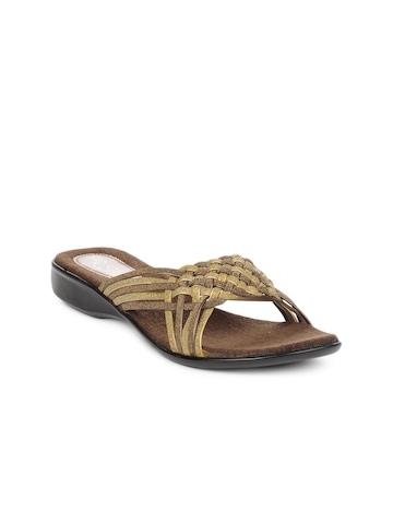 Portia Women Gold Flats