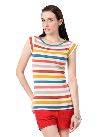 French Connection Women Multi Coloured Top