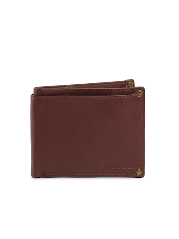 Fastrack Men Leather Brown Wallet