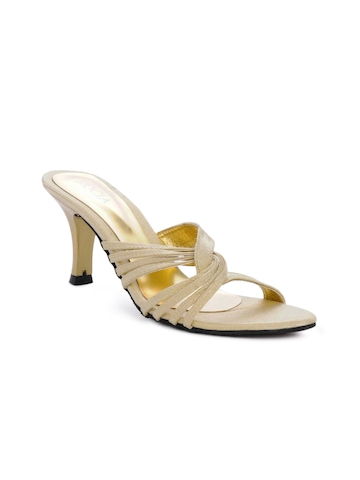 Rocia Women Golden Heels
