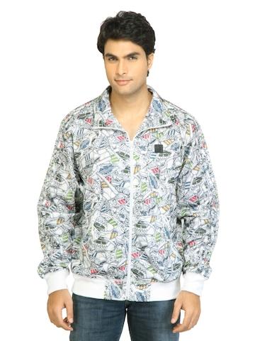 Adidas Originals Men ST FB Track Top White Jacket