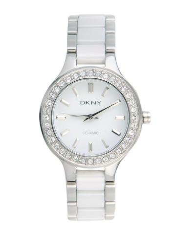 DKNY Women White Dial Watch NY8139